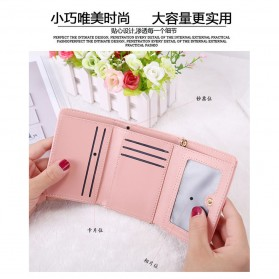 Dompet Wanita Model Happy For You Everyday - L-1003 - Pink - 2