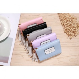 Dompet Wanita Model Happy For You Everyday - L-1003 - Pink - 8