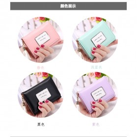 Dompet Wanita Model Happy For You Everyday - L-1003 - Pink - 10
