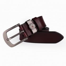 CEXIKA Tali Ikat Pinggang Kulit Leather Belt - CS75 - Brown