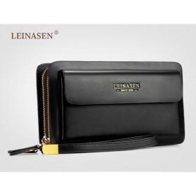 Trend Fashion Pria Terbaru - LEINASEN Dompet Pria Model Panjang - A-82 - Black