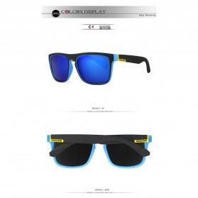 KDEAM Kacamata Pria Sunglasses Polarized Anti UV - C1 - Blue - 2