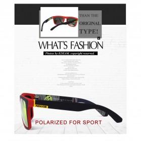 KDEAM Kacamata Pria Sunglasses Polarized Anti UV - C1 - Blue - 4
