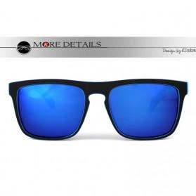 KDEAM Kacamata Pria Sunglasses Polarized Anti UV - C1 - Blue - 5