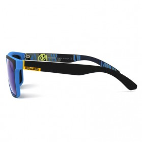 KDEAM Kacamata Pria Sunglasses Polarized Anti UV - C1 - Blue - 6