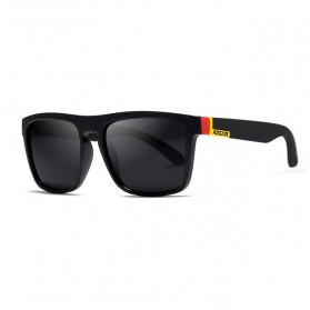 KDEAM Kacamata Sunglasses Polarized - KD156 - Black/Yellow - 1