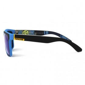 KDEAM Kacamata Sunglasses Polarized - KD156 - Black/Yellow - 2