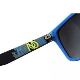 KDEAM Kacamata Sunglasses Polarized - KD156 - Black/Yellow - 4