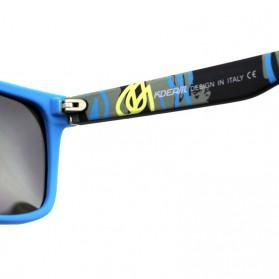 KDEAM Kacamata Sunglasses Polarized - KD156 - Black/Yellow - 5