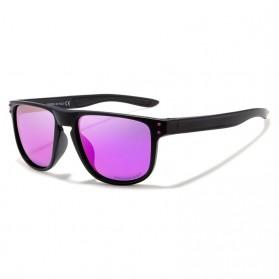 KDEAM Kacamata D Shape Sunglasses Polarized - KD6790 - Purple - 2
