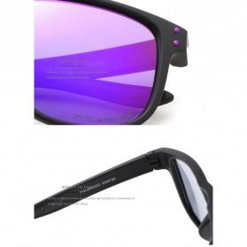 KDEAM Kacamata D Shape Sunglasses Polarized - KD6790 - Purple - 3