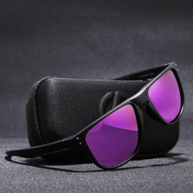 KDEAM Kacamata D Shape Sunglasses Polarized - KD6790 - Purple - 4