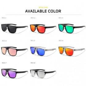 KDEAM Kacamata D Shape Sunglasses Polarized - KD6790 - Purple - 5