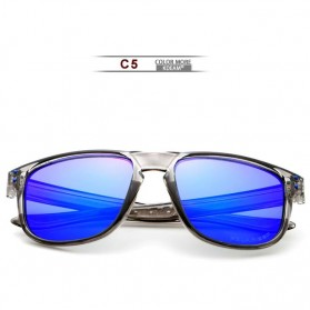 Trend Fashion Pria Terbaru - KDEAM Kacamata D Shape Sunglasses Polarized - KD6790 - Blue