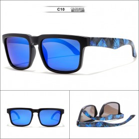 KDEAM Kacamata Pria Sunglasses Polarized Anti UV - KD2501 - Blue