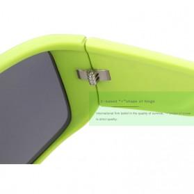 KDEAM Kacamata Pria Sunglasses Polarized Anti UV - KD2514 - Black/Yellow - 2
