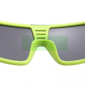 KDEAM Kacamata Pria Sunglasses Polarized Anti UV - KD2514 - Black/Yellow - 4
