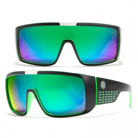KDEAM Kacamata Pria Sunglasses Polarized Anti UV - KD2514 - Black/Green