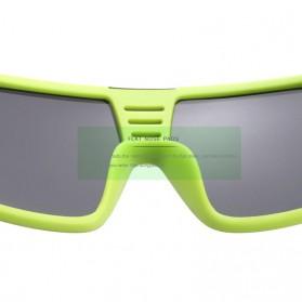 KDEAM Kacamata Pria Sunglasses Polarized Anti UV - KD2514 - Black/Green - 4