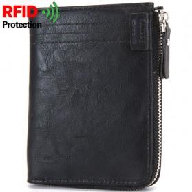 BABORRY Dompet Pria Anti RFID - FQB08 - Black