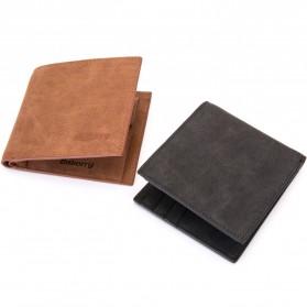 BABORRY Dompet Pria Anti RFID - FL51 - Black - 4