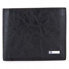 BABORRY Dompet Pria Anti RFID - FLQ52 - Black