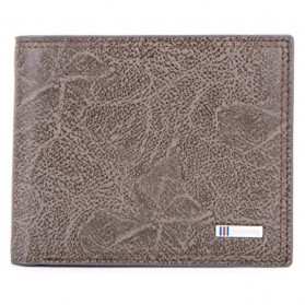 BABORRY Dompet Pria Anti RFID - FLQ52 - Brown
