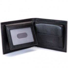 BABORRY Dompet Pria Anti RFID - FLQ52 - Brown - 4