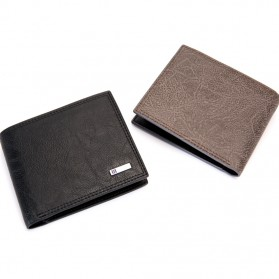 BABORRY Dompet Pria Anti RFID - FLQ52 - Brown - 6