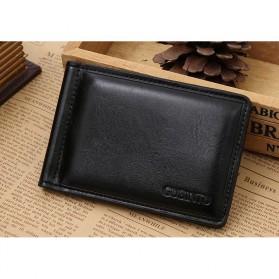 Fashion Wanita / Pria - GUBINTU Dompet Pria Model Clip Wallet - 1002 - Black