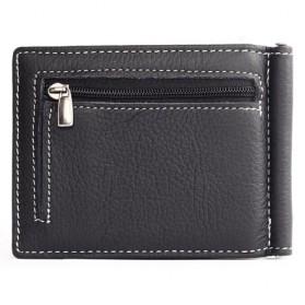 GUBINTU Dompet Pria Model Clip Wallet - BID066 - Black - 2