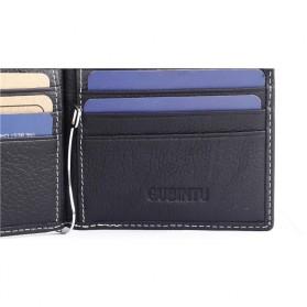 GUBINTU Dompet Pria Model Clip Wallet - BID066 - Black - 6