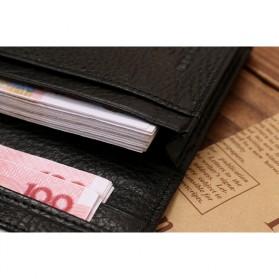 JINBAOLAI Dompet Pria Long Wallet - 8039 - Brown - 3