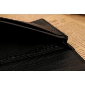 JINBAOLAI Dompet Pria Long Wallet - 8039 - Brown - 5