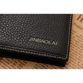 JINBAOLAI Dompet Pria Long Wallet - 8039 - Brown - 7