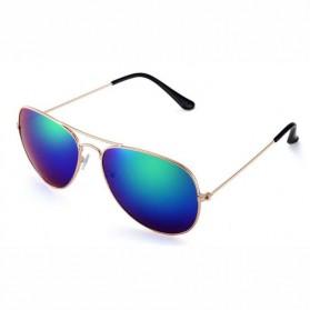 Trend Fashion Pria Terbaru - Pro Acme Kacamata Aviator Pria Mirror - CC0744 - Rose Gold