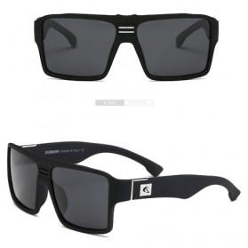 DUBERY Kacamata Pria Retro Polarized Sunglasses - Y729 - Black