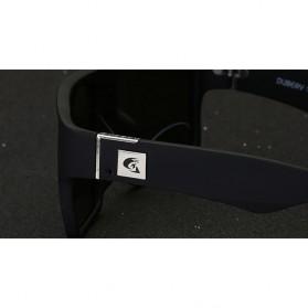 DUBERY Kacamata Pria Retro Polarized Sunglasses - Y729 - Red - 2