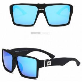 DUBERY Kacamata Pria Retro Polarized Sunglasses - Y729 - Blue