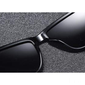DUBERY Kacamata Pria Polarized Sunglasses - 518 - Black/Blue - 3