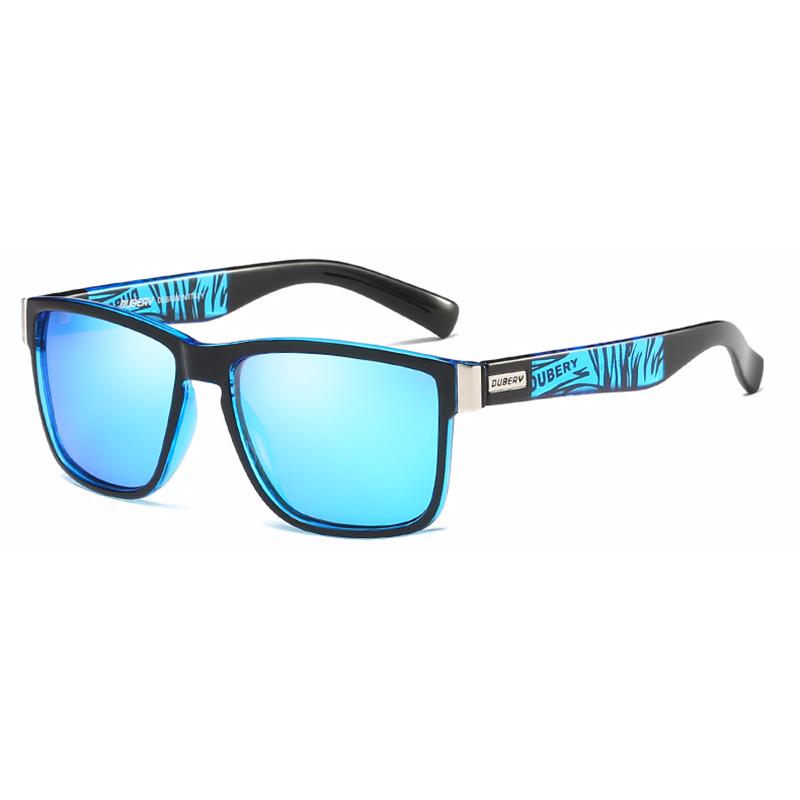 b63d99b372 ... DUBERY Kacamata Pria Polarized Sunglasses - 518 - Black Blue - 1 ...