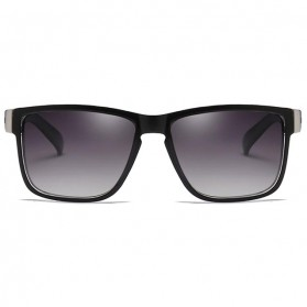 DUBERY Kacamata Pria Polarized Sunglasses - 518 - Black White - 2