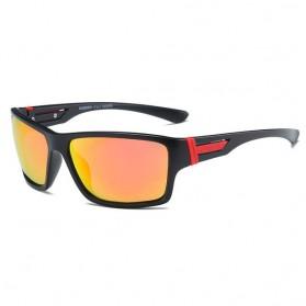 DUBERY Kacamata Pria Polarized Sunglasses - 2071 - Black Gold