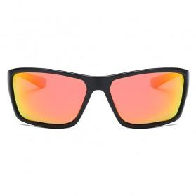 DUBERY Kacamata Pria Polarized Sunglasses - 2071 - Black Gold - 2