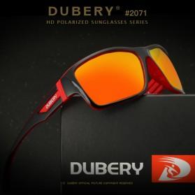 DUBERY Kacamata Pria Polarized Sunglasses - 2071 - Black Gold - 3