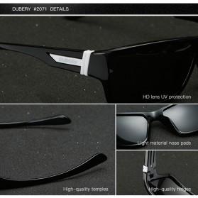 DUBERY Kacamata Pria Polarized Sunglasses - 2071 - Black Gold - 6
