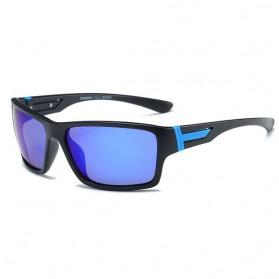 DUBERY Kacamata Pria Polarized Sunglasses - 2071 - Blue
