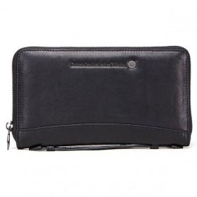 CONTACTS Dompet Kulit Handbag Pria - M1246 - Black