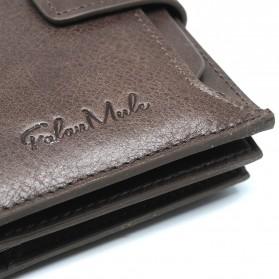 FALANMULE Dompet Pria Classic Bahan Kulit - FLML1342 - Black - 2