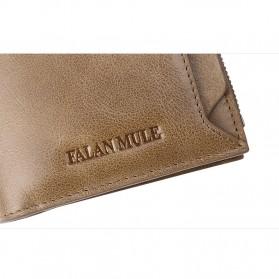 FALANMULE Dompet Pria Classic Bahan Kulit - FLML1342 - Black - 9